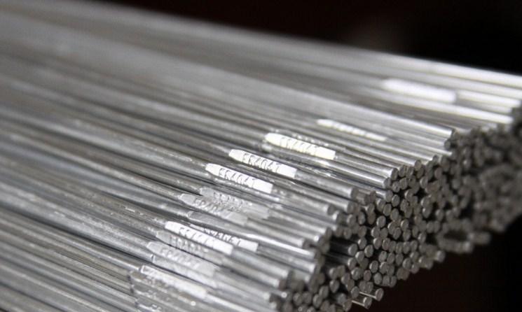 Kawat Las Aluminium, sumber : Pengelasan.net